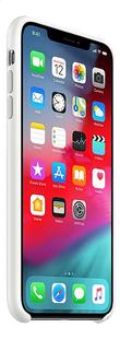 Apple cover iPhone Xs Max silicone wit-Linkerzijde