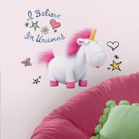 Sticker mural Despicable Me 3 - I believe in Unicorns