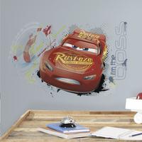 Muursticker Disney Cars 3 Lightning McQueen
