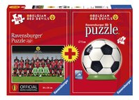 Ravensburger puzzel Belgian Red Devils Team + puzzleball