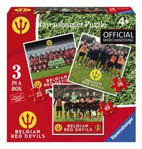 Ravensburger puzzle 3 en 1 Belgian Red Devils
