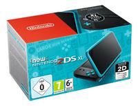 Nintendo console 2DS XL  noir/turquoise-Côté gauche