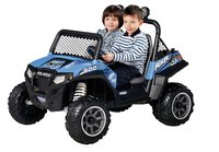 Peg-Pérego elektrische jeep Polaris Ranger RZR900 blauw