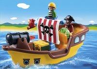 PLAYMOBIL 1.2.3 9118 Piratenschip-Afbeelding 1