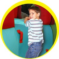 Happy Hop springkasteel Playcenter 7-in-1 -Afbeelding 3