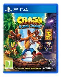 PS4 Crash Bandicoot N Sane Trilogy FR