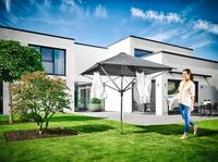 Leifheit Linoprotect 400 Droogmolen-paraplu 40 m-Afbeelding 1