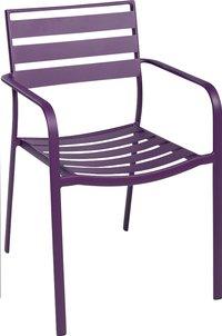Chaise de jardin Blair mauve-Avant