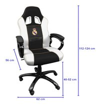Subsonic fauteuil gamer Real Madrid-Détail de l'article