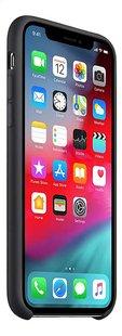Apple coque en silicone pour iPhone Xs noir-Côté gauche