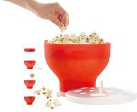 Lékué Popcorn maker rouge-Détail de l'article