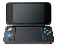Nintendo console 2DS XL  noir/turquoise-Avant