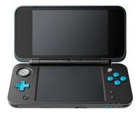 Nintendo console 2DS XL  zwart/turkoois-Vooraanzicht