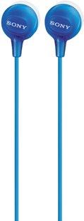 Sony oortelefoon MDR-EX15AP blauw-Artikeldetail