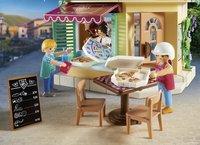 PLAYMOBIL City Life 70336 Pizzeria avec terrasse-Image 1