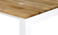 Tuintafel Soho teak/wit L 240 x B 100 cm-Artikeldetail