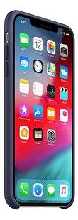 Apple coque en silicone pour iPhone Xs Max bleu-Côté gauche