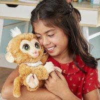 FurReal interactieve knuffel Zandi het zieke aapje-Afbeelding 1