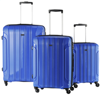 Travelite Valise rigide Colosso Spinner bleu