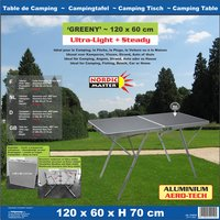 Nordic Master table de camping Greeny-Image 2