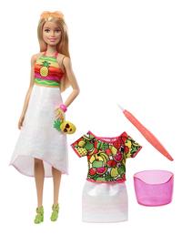 Barbie poupée mannequin  Crayola Cutie Fruity-commercieel beeld