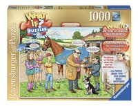Ravensburger puzzle What if? The Racehorse