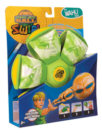 Goliath Frisbee Phlat Ball Swirl Ø 23 cm groen-Linkerzijde