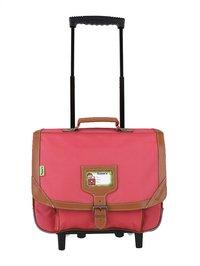 Tann's trolley-boekentas Hot Pink 38 cm