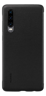 Huawei flipcover View voor Huawei smartphone P30 zwart-Achteraanzicht