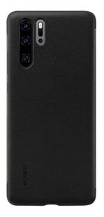 Huawei flipcover View voor Huawei P30 Pro zwart-Achteraanzicht