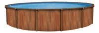 Atlantic Pools zwembad Esprit II redwood diameter 5,49 m