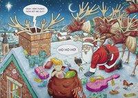 Ravensburger puzzel What if? Santa & Rudolph-Vooraanzicht