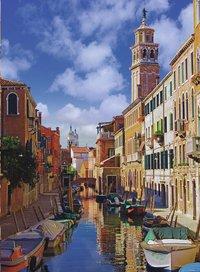 Ravensburger Puzzel In Venetië-Vooraanzicht
