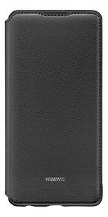 Huawei flipcover met vak voor kaarten voor Huawei P30 zwart-Vooraanzicht