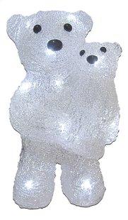 Animal lumineux LED Ours et son petit