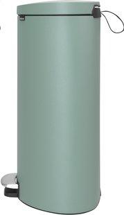 Brabantia poubelle à pédale FlatBack+ 40 l mint-Côté gauche