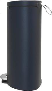 Brabantia poubelle à pédale FlatBack+ 40 l bleu-Côté gauche