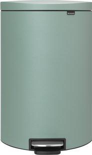 Brabantia poubelle à pédale FlatBack+ 40 l mint