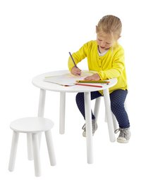 Tafel met 2 stoelen voor kinderen-Afbeelding 2