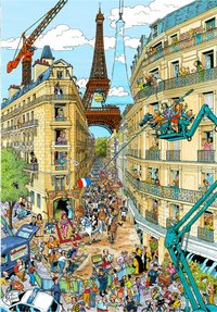 Ravensburger puzzle Fleroux Paris-Avant