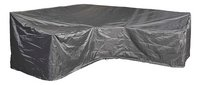 AeroCover Housse de protection pour ensemble lounge en forme de L trapèze et dossier haut polyester L 300 x Lg 90 x H 90 cm