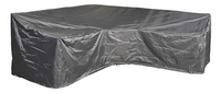AeroCover Beschermhoes voor loungeset Trapeze L-vorm en hoge rugleuning polyester L 300 x B 90 x H 90 cm