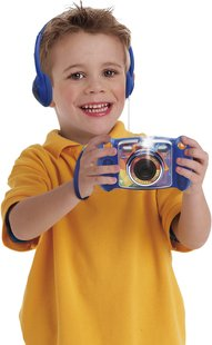 VTech digitaal fototoestel KidiZoom Duo blauw-Afbeelding 1