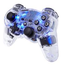 bigben manette sans fil pour PS3 transparent/bleu