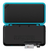 Nintendo console 2DS XL  zwart/turkoois-Achteraanzicht