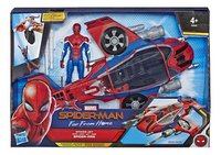 Spider-Man Far From Home Spider-Jet met Spider-Man-Vooraanzicht