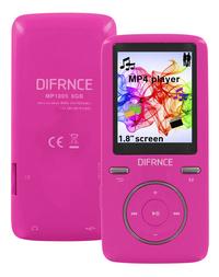 Difrnce mp4-speler MP1805 8 GB roze-Artikeldetail