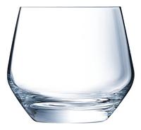 Eclat Cristal d'Arques Paris 6 verres à eau Ultime 35 cl-Avant