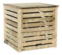 Composteur en bois Profi brun 1000 l