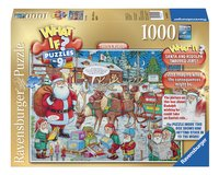 Ravensburger puzzle What if? Santa & Rudolph